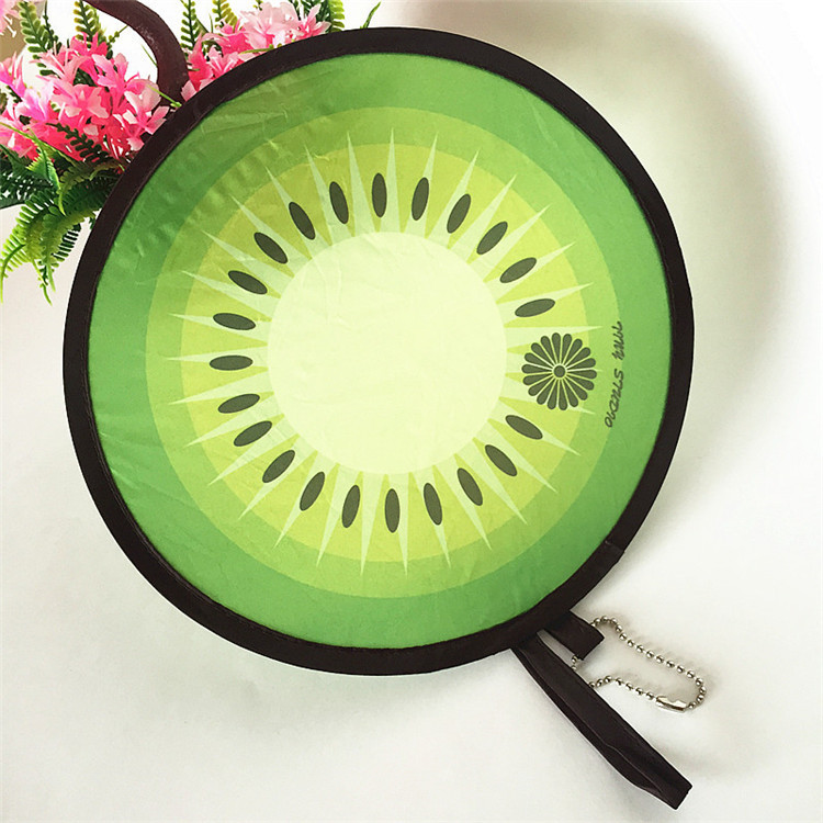 Professional Frisbee Cheap Custom Foldable Frisbee for kids/dog,frisbee golf with kiwi design