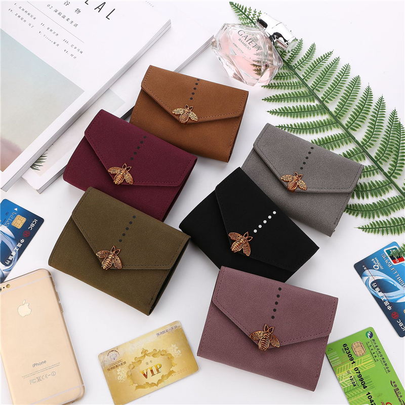 Women wallets cute Beed Queen card holder slim coin Cheque wallets ladies portefeuille femme travel Clutches carteira feminina