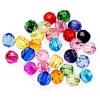Wholesales 12mm Mixed Color acrylic beads