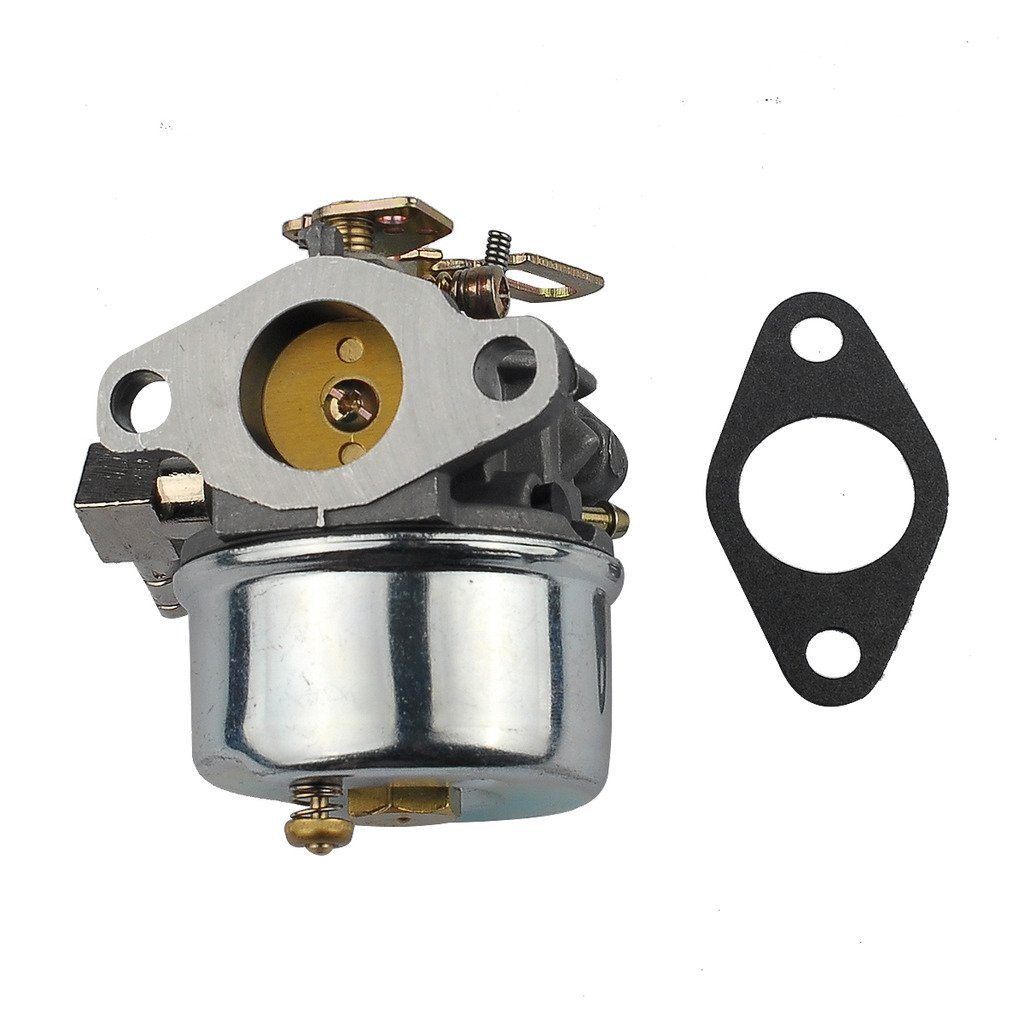 HIPA Carburetor # 640298 with Mounting Gasket for Tecumseh OH195SA OHSK70 Snow Blower 5.5hp 7hp Engine