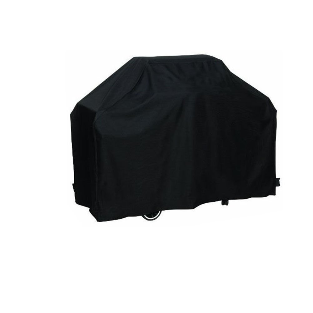 "JTW-BBQ Grill Cover 58"" Heavy Duty Waterproof & Weather Resistant Cover for Weber Outdoor BBQ Grill Covers (Size: 145 61 117 cm ( L W H)) Black color +Storage Bag"