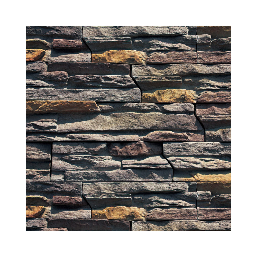 interior & exterior wall decoration ledge stone panel tile aritificial outdoor stacked stone for garden fireplace siding panel