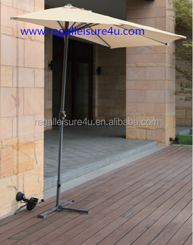High Quality Off Wall Window Half Round Patio Umbrella Um 0009