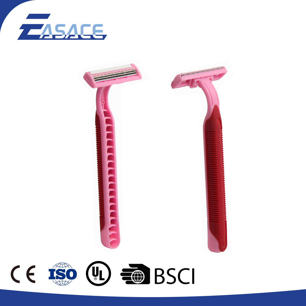 High Quality Plastic Handle Single Blade Men'S Shaver Razor