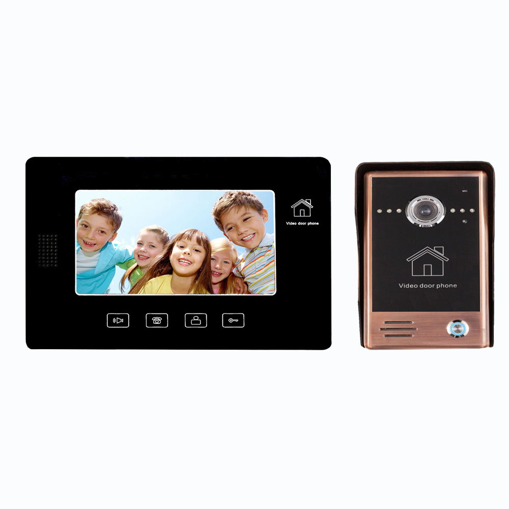 wired touch screen camera video door phone