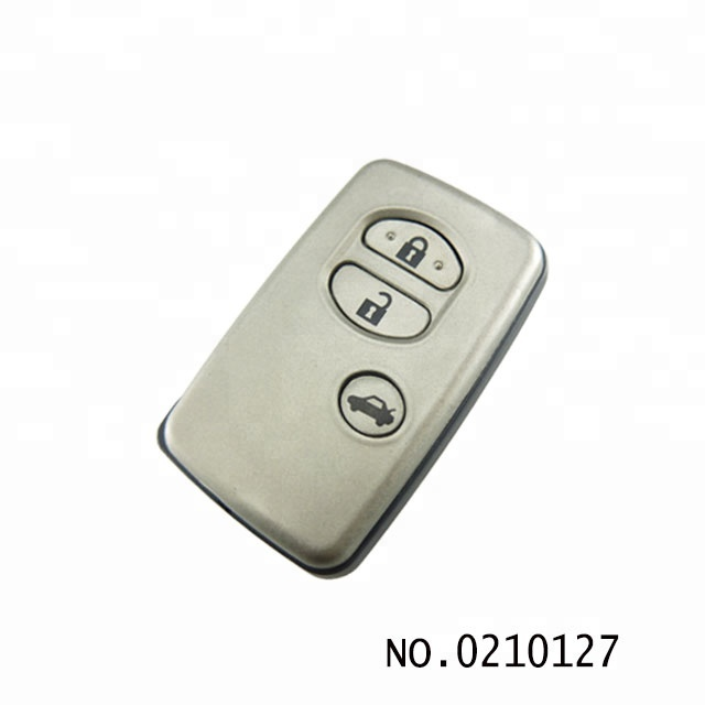 High quality wholesale ID71 auto 3 button 434MHZ car remote smart <strong>key</strong> for Toyota Camry 0210127