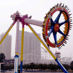 amusement parks big swing pendulum frisbee machine