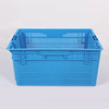 square stackable plastic crate for vegetable and fruit packaging box