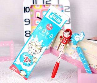 Unique Cute Milk Pack Design Functional Pencil Bag Pencil Case ...