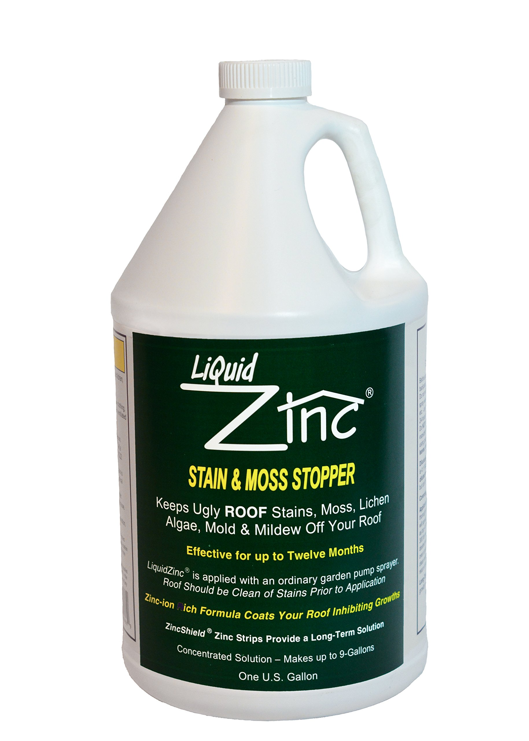 Z-Stop Moss Algae /& Fungus Inhibitor With Nails New 50-Ft