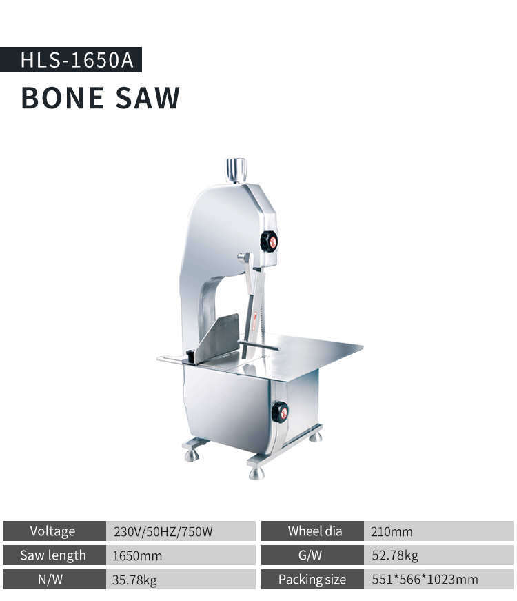 Commercial Stainless steel electric meat bone saw machine