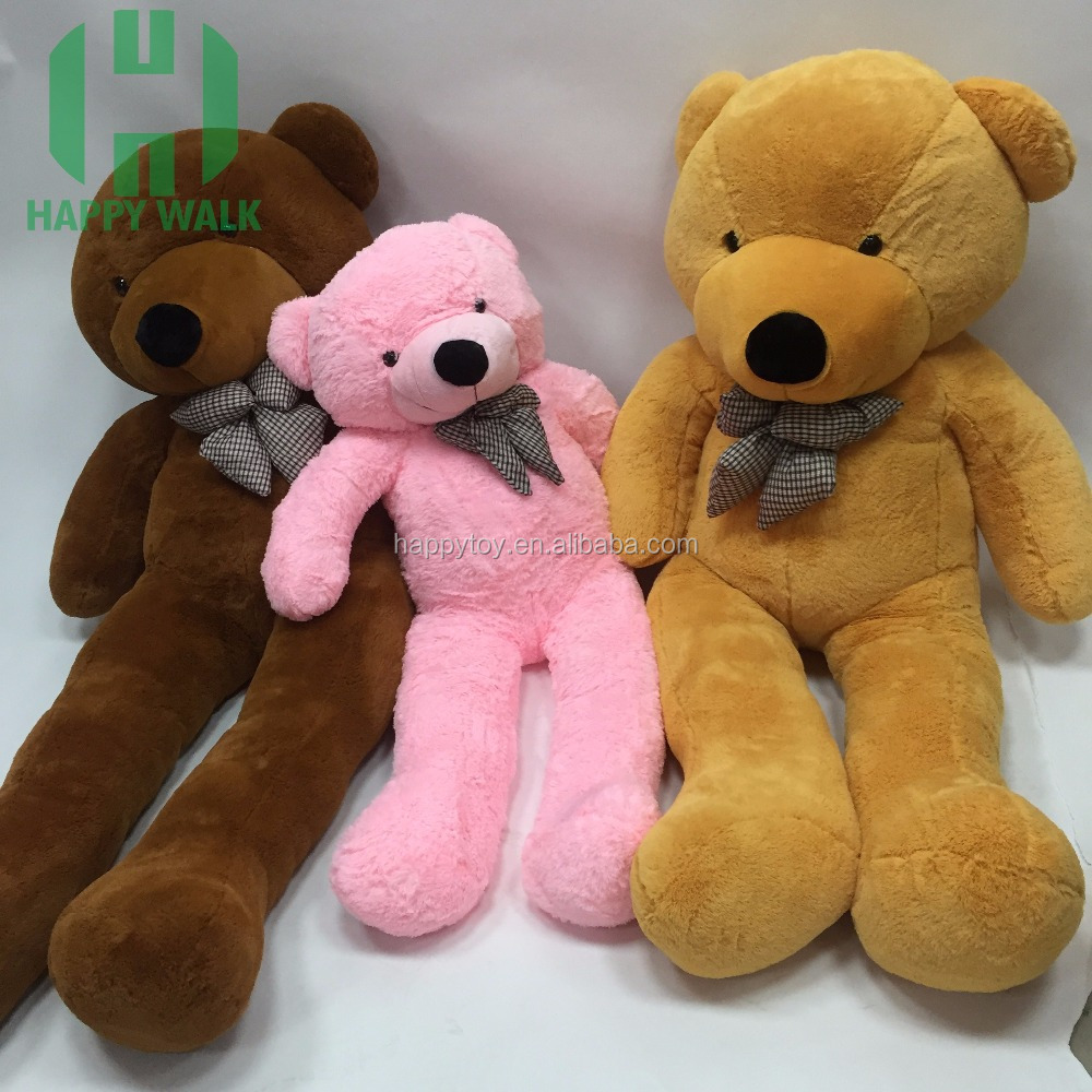 HI CE new arrival high quality 2 meter yellow teddy bear 200cm plush