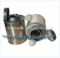 16oz PVC/CPVC/UPVC tin cans, 16oz cans