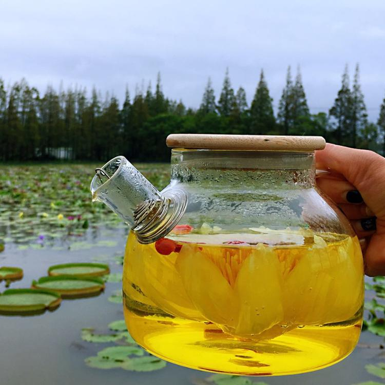 Nature yellow organic diet tea dried flower lotus sleep tea - 4uTea | 4uTea.com