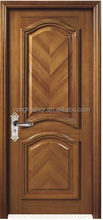 Composite wooden security single design door for entry