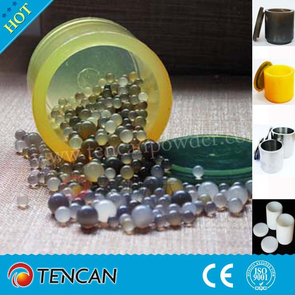 for electronic and battery material powder PU ball mill jar