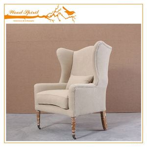 China wholesale customize high wing back chairs,Single arm chair sofa