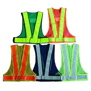 high visibility safety reflective vest warning vest running reflective safety belt,led reflective belt,traffic reflective vest