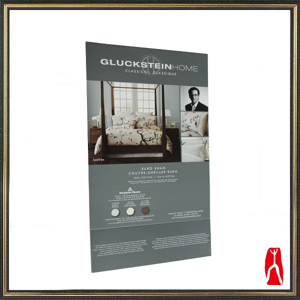 Custom good printed home textiles advertising page