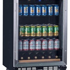 "Youshengda 24"" Beverage Wine Refrigerator 110 Can Built-in or Freestanding Single Zone Touch Control"