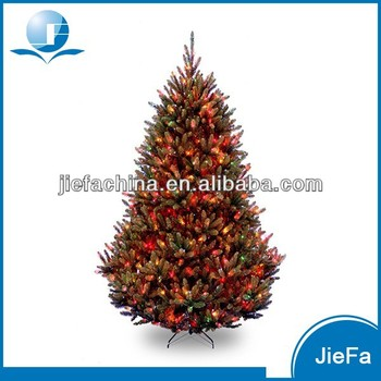 7.5 Green Medium Fir Artificial Led Christmas Lights Tree