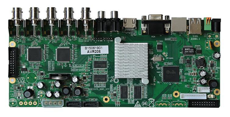 Hot Sale Dvr Pcb Board 8ch 1080p Cctv Dvr Ahd Manufactory Cheap ...