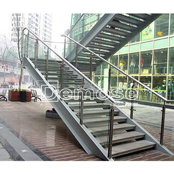 Gentil Quality Metal Outdoor Stairs With Steel Steps