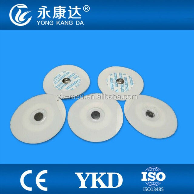 CE/ISO Medical Disposable Round Foam Adult ECG Electrodes