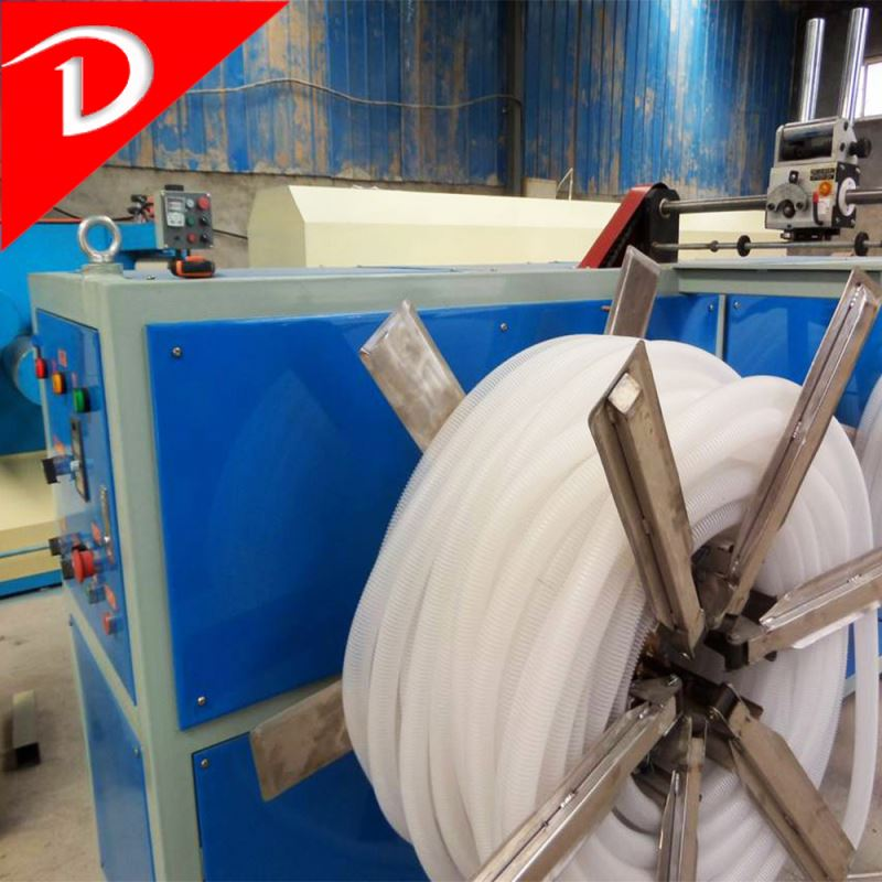 plastic extrusion die plastic pe corrugated pipe extrusion line making unit