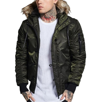 2019 Newest design wholesale mens army green jacket