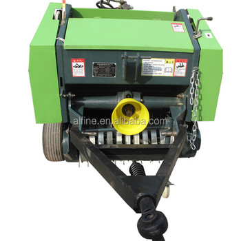 Factory directly sale mini baler pto round baler for 25hp tractor