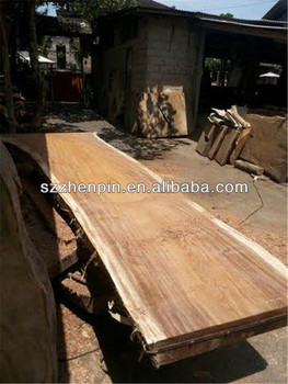 High Quality Acacia Solid Big Slab Wood 1.2 Meter Dining Table Top /coffee Table