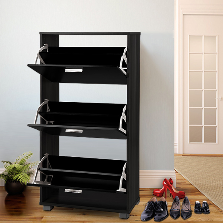 Modern 5 Doors Shoe Cabinet Family Used Shoe Cabinet Wall Mounted ...