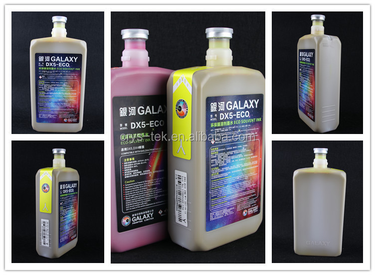 galaxy dx5 eco solvent ink dx4 dx5 dx7 eco-solvent ink