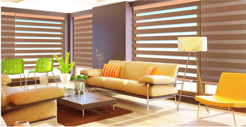 Blackout zebra blinds Roller Blinds interior blinds for windows