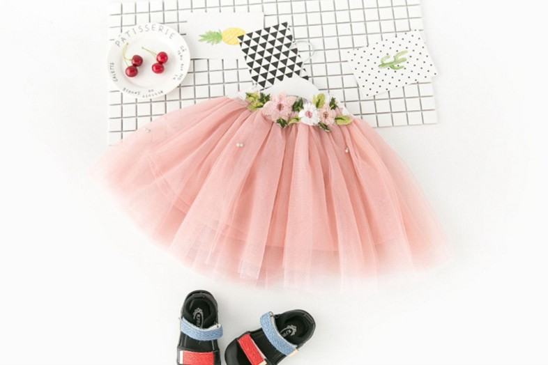 Hao Baby Hot Selling Baby Girls Clothing Sets Kids Clothes Girl Princess Frock Design Skirts