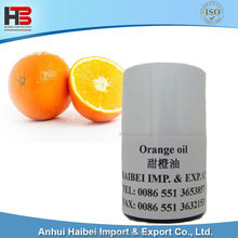 Food grade pure and natural Orange oil