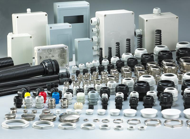 M Typ Kunststoff Nylon Flexible Wasserdichte Kabel Drüse