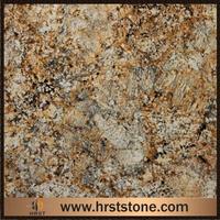 Golden Persa Granite dove carving