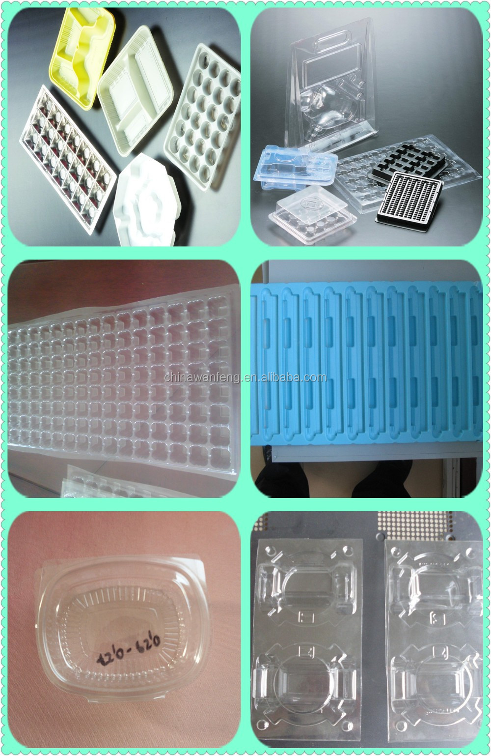 Hot sale tray vacuum forming machine