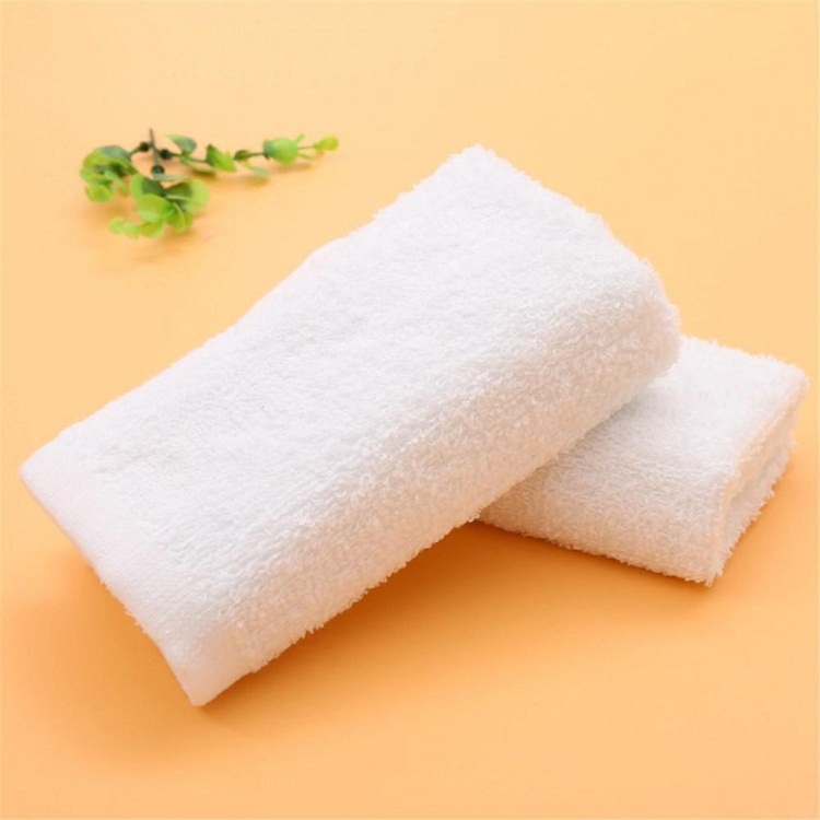 Terry cloth disposable kitchen airline face hand towel