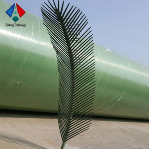Decorative Plastic Palm Tree Leaves for Steel Tower