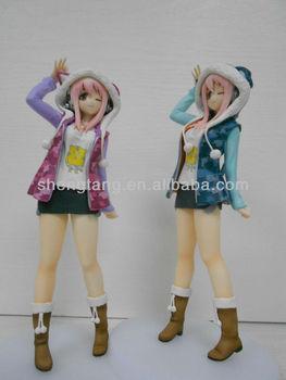 Japanese Anime Action Figure Lovely Girl Model Toy Supplier Oem Odm