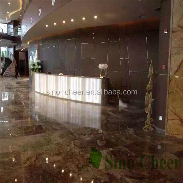 Chocolate Brown Marble Flooring Tiles Wholesale Floor Tile