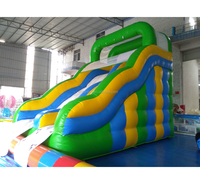 Hot selling inflatable slip and slide/slip n slide inflatable for safe/inflatable bouncy castle with water slide