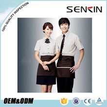Custom <span class=keywords><strong>restaurant</strong></span> ober <span class=keywords><strong>uniform</strong></span>, korea stijl serveerster unifrom