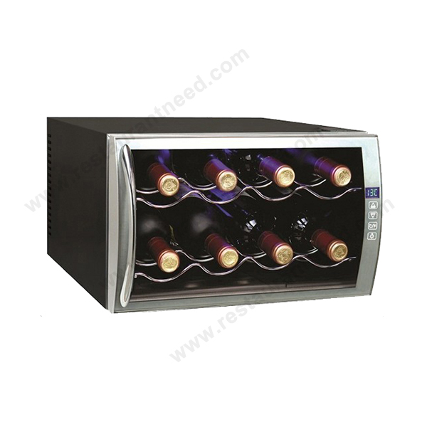 8 Bottles Horizontal Wine Cooler
