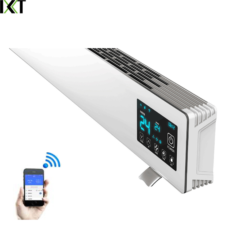 1500W-3000W High Quality Panel Parts Wall Installation Electric Baseboard Heater For Home