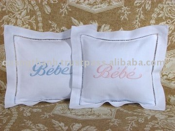 Embroidered Memory Pillow Sympathy Gift Keepsake Pillow