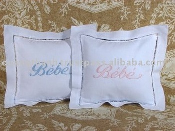 embroidery baby pillow case